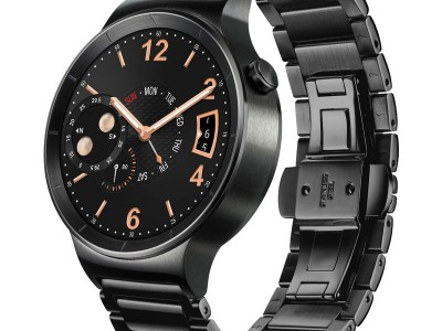Smartwatch Watch Active Black Stainless Steel van Huawei