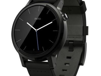 Smartwatch Moto 360 2 42mm Dali Black Leather van Motorola