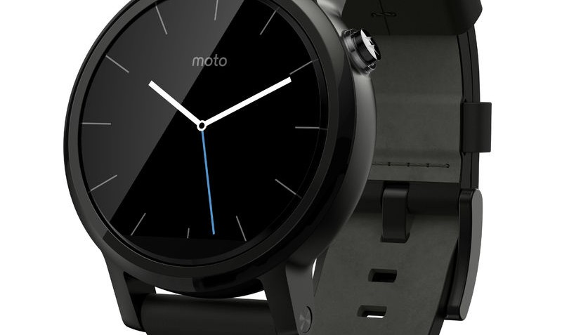 Smartwatch Moto 360 2 42mm Dali Black Leather van Motorola