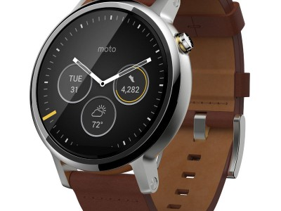 Smartwatch Moto 360 2 46mm Dali Cognac Leather van Motorola