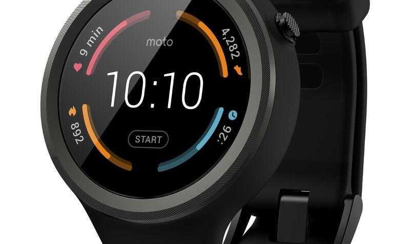 Smartwatch Moto 360 2 Dali Sport Black van Motorola