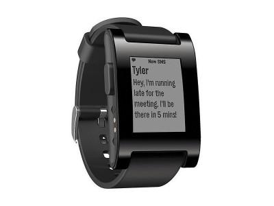 Smartwatch Smartwatch Black van Pebble