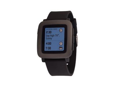 Smartwatch Time Black van Pebble