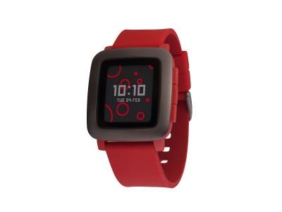 Smartwatch Time Red van Pebble