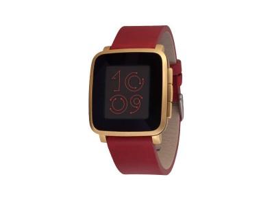 Smartwatch Time Steel Gold van Pebble