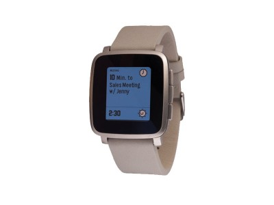 Smartwatch Time Steel Silver van Pebble