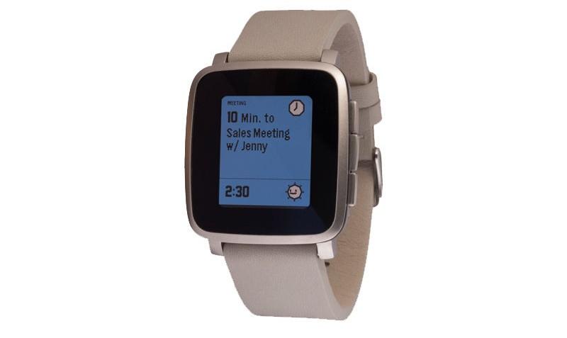 Smartwatch Time Steel Silver van Pebble